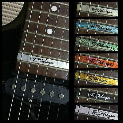 Custom-Made 24th Fret Marker Inlay Sticker For Guitar