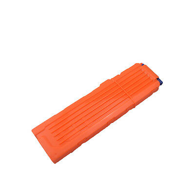 1Pc18 Rounds Replacement #B Magazines Clip for Nerf N-Strike Elite Toy Orange