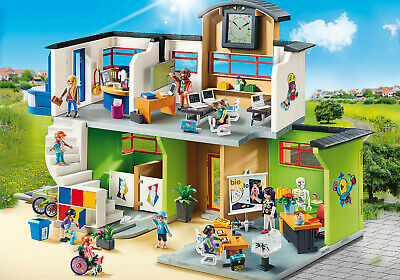Playmobil 5338 - Airport Terminal with Tower City Action Transport