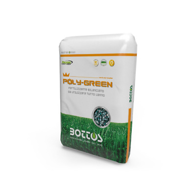 Concime A Cessione Controllata Bottos Poly Green18-8-12 - Kg 25