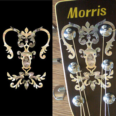 Chandelier Torch Vine Inlay Sticker Decal For Headstock Acoustic Guitar