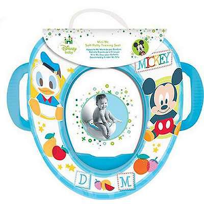 Disney Mickey Mouse Potty Soft Trainer Seat Toddler Portable Toilet Train Pad