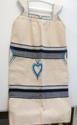 REDUCED PRICE Authentic African handwoven Western Ivory Coast Kaftan Dress 2
