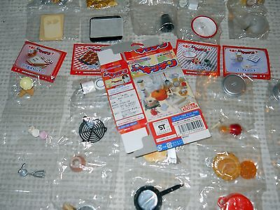New 2004 Rare Discontinued Re-Ment Full Set #020 - Puchi Petite Kitchen Baking