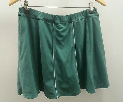 "Team Colours Sports and Leisurewear Green Skirt Size 32"" Sportswear <J1753"