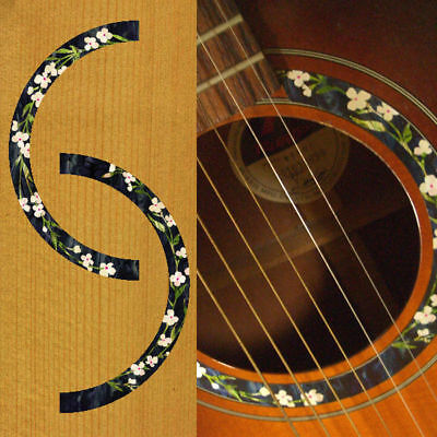... 40 41inch Acoustic Classic. Source · Rosette (Flowers) Inlay Sticker Decal Acoustic Guitar Purflinng Sound hole
