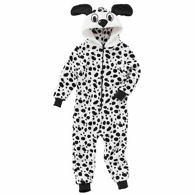 Super Cool Unisex Dalmation All in One Romper Sleepsuit 9 to 13 Years