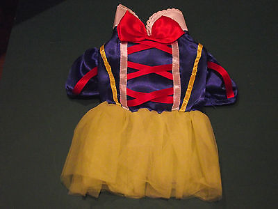 Snow White Dog/puppy Or Cat Outfit