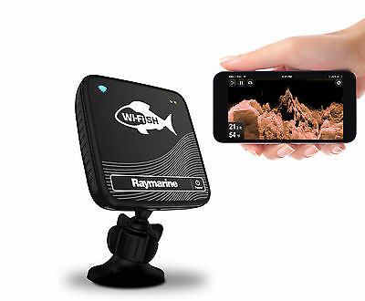 Raymarine Wi-fish Fishfinder CHIRP DownVision Sonar for tablet smartphone