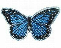 FBAS-GDCRFBACC52067-Clark Collection CC52067 Small Blue Butterfly