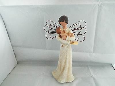 Guardian Angel With Baby Bonding By Regency Fine Arts 24cm Tall