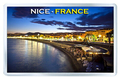 France Nice Mod4 Fridge Magnet Souvenir Iman Nevera