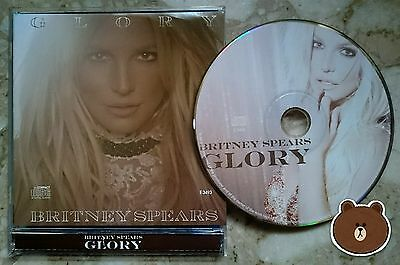 Britney Spears - Glory Malaysia Rare Picture Disc CD Makes Me 3 Work Bitch