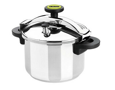 Pressure Cooker 10 Litre Stainless Steel Kitchen Home Cooking Catering Cook Pan