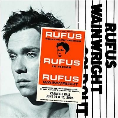 Rufus Wainwright / Rufus Does Judy At Carnegie Hall - 3 Vinyl LP 180g audiophil