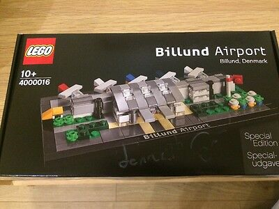 Lego 4000016 - SIGNED Billund Airport Special Edition New & Sealed RARE