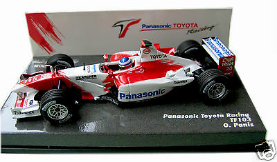 Panasonic Toyota Racing TF103 Olivier Panis Model Minichamps F1 Formula One