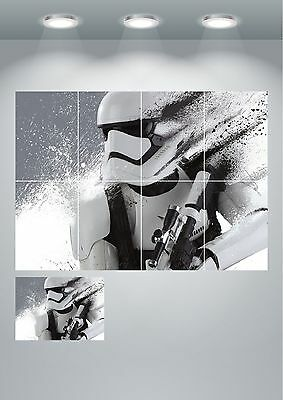 Storm Trooper Abstract Giant Wall Art poster Print