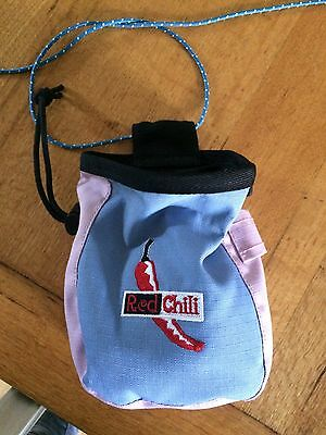 Red Chili Chalk Bag, For Rock Climbing