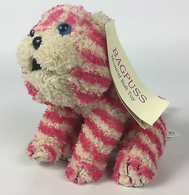 """Bagpuss Adorable 6"""" Plush With Push Button Yawn/Music, Mint With Tag"""