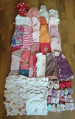 Large Bundle of Baby Girls Clothes - Age 0-3 months lots of next 70+ items