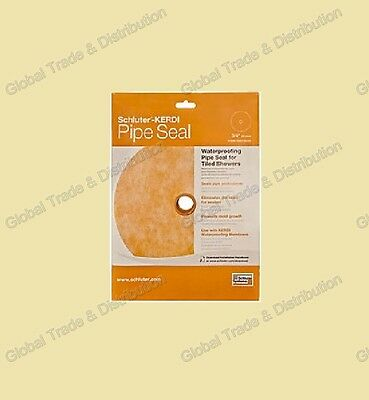 """Schluter Systems Kerdi Pipe Seal PS  1/2"""" KMS185/12"""