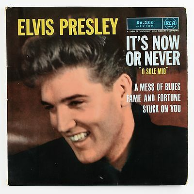 ELVIS PRESLEY - It's Now Or Never - EP 45 tours