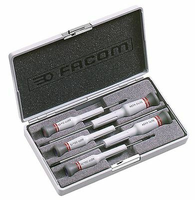 Facom Aefp.j1 Micro Tech Case Set Of Phillips Screwdriver Heads