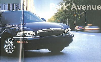 2000 BUICK Brochure / Catalog / Pamphlet : PARK AVENUE,LeSABRE,REGAL,CENTURY,