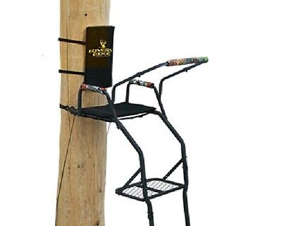 NEW Rivers Edge RE626 300 lb Capacity Onset XT 1 Person Hunting Ladder Treestand