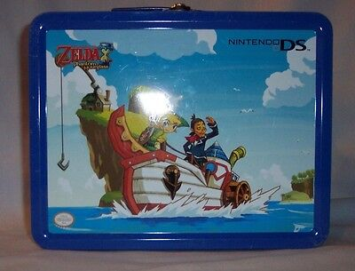 Official Nintendo Ds Zelda Phantom Hourglass Metal Tin Lunchbox