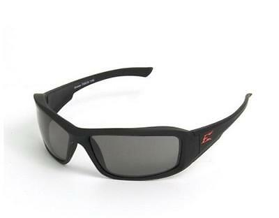 Edge TXB236 Brazeau Torque Black Frame Smoke Lens Polarized Safety Glasses