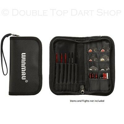 Winmau Super Darts and Accessory Case / Wallet - Black - Durable - Holds 2 Sets