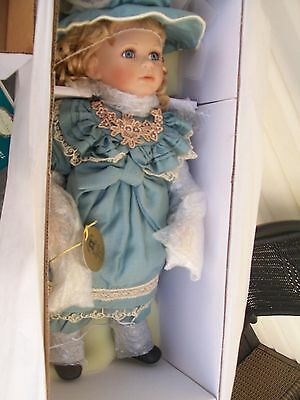 limited edition hillview lane enchanted porcelain doll brittany