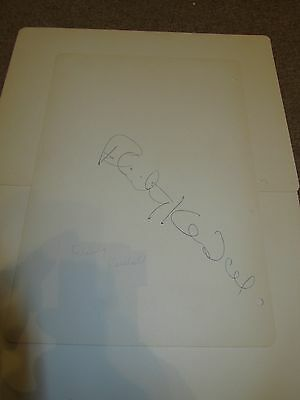 Felicity Kendal  -  Good Life  -  Signed  - 10X8  Inch Paper Page  - Genuine