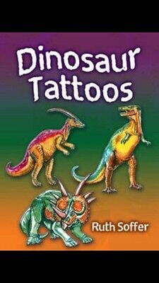 Temporary Dinosaur Tattoos EXTREMELY FAST SHIPPING!!!
