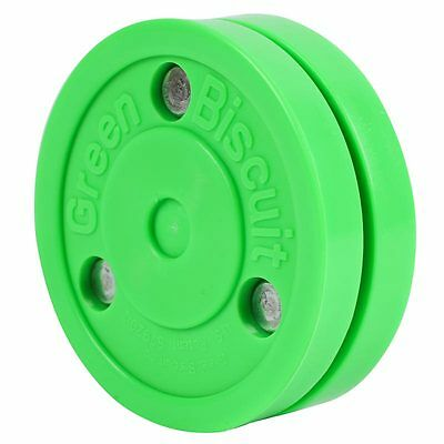 Green Biscuit Off Ice Training Puck Ice Hockey Inline Hockey