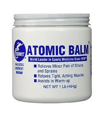 Cramer Atomic Balm Analgesic Pain Ointment 1 lb Jar (EACH, 2, 3 Jars)