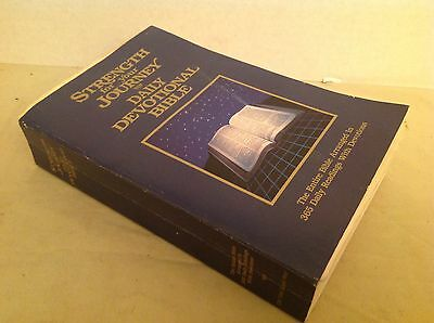 Vintage Holy Bible Daily Devotional Strength for your Journey King James 1987