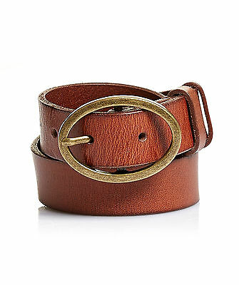 NEW JAG WOMENS OILY LEATHER BELT Belts