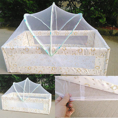 Baby Infant Cradle Bed Canopy Tent Toddler Crib Cot Breathable Mosquito Netting
