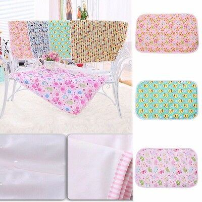 Baby Infant Breathable Waterproof Changing Pad Changing Mat Cover Burp 25*35CM