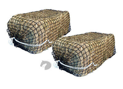 Hay net GreedySteed Premium Knotless Haynet 4cm horse pony float FULL bale