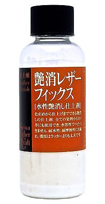 Seiwa Leathercraft Leather Lacquer Matt Finish Varnish Top Coat 100ml