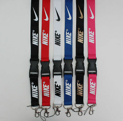 Nike Multi Color Lanyard Key Chain Quick Release Buckle BUY 2 GET 1 FREE!!
