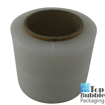 Clear Bundling Film - 100mm x 300m 20um 1 Roll FREE SHIPPING Stretch Wrap Small
