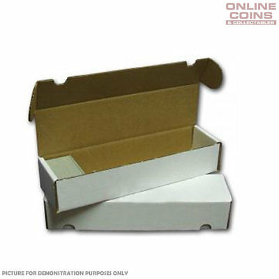 Sport Images 800 Count Cardboard Trading Card Storage Box