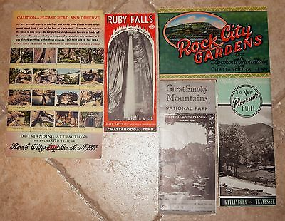 Vintage Tennessee travel brochures, circa 1950's