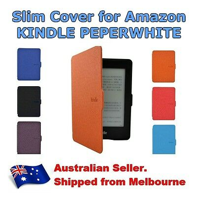 Kindle Paperwhite Magnetic Ultra Slim Leather Smart Case Cover Generation