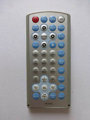 SONICHI INCAR DVD PLAYER REMOTE CONTROL RC300C for S7000DVD